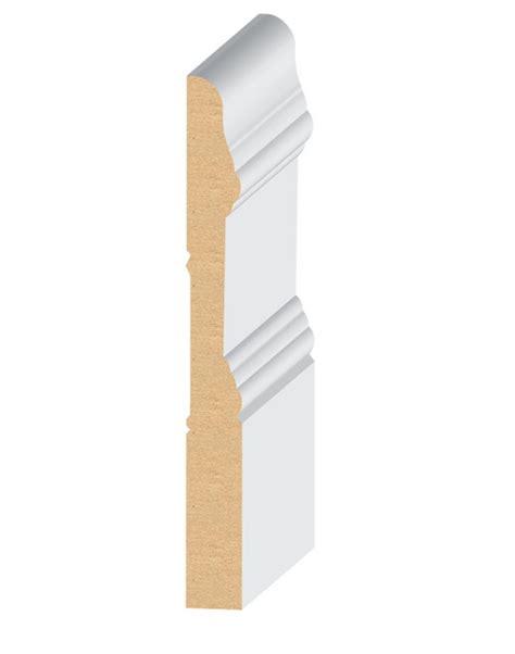 mdf quot el el wood products crescent mdf baseboard moulding 5 1