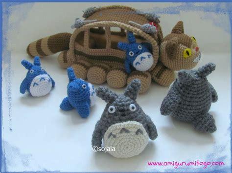 amigurumi pattern totoro grey totoro revised crochet pattern for the cat bus free