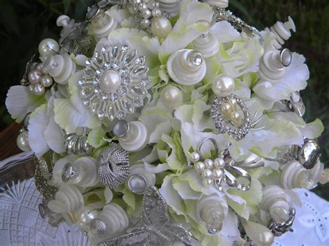 Wedding Bouquet Bling by Bling Bling Wedding Bouquet By Josiegirlbouquets On Etsy