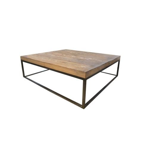 iron wood coffee table iron wood and glass