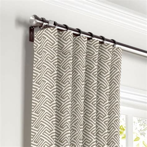 Geometric Pattern Curtains Geometric Pattern Window Curtains 28 Images Skipper Brown Geometric Pattern Window Curtain 5