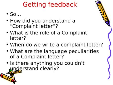Complaint Letter For Computer Problems Complaint Letters Problem Questions 1 1