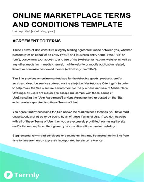 design proposal terms and conditions great website requirements document template ideas