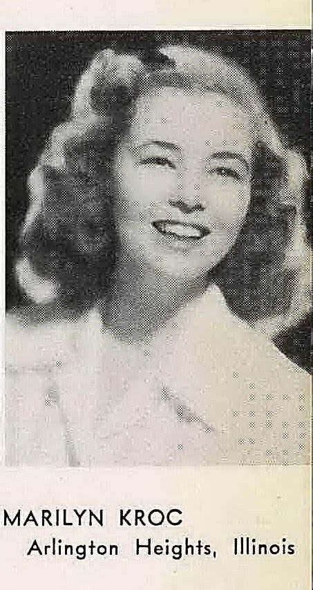 Marilyn Kroc Also Search For Marilyn Janet Quot Quot Kroc Barg 1924 1973 Find A