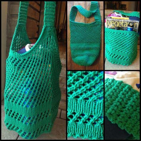 free knitting patterns with cotton yarn knit tote bag using sugar n cotton yarn in mod