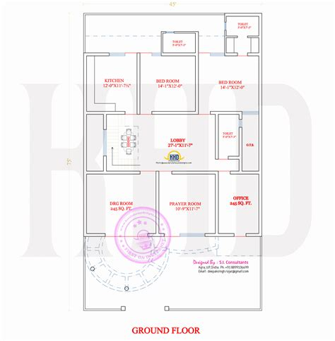 Free House Designs Floor Plans India Stylish Indian Home Design And Free Floor Plan Home