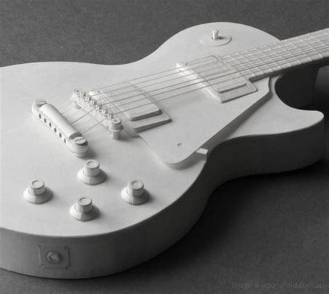 Guitar Papercraft - paper guitar kits