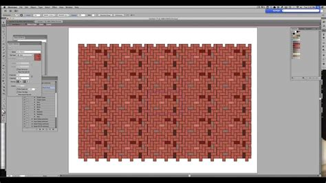 herringbone pattern illustrator make a herringbone brick pattern using indesign and