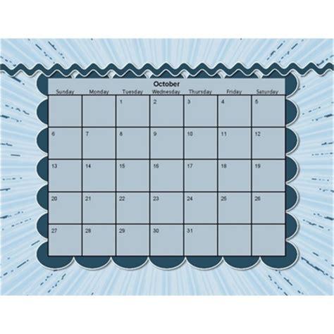 decorative calendar template clip blue yearly calendar lllcrtn calendars