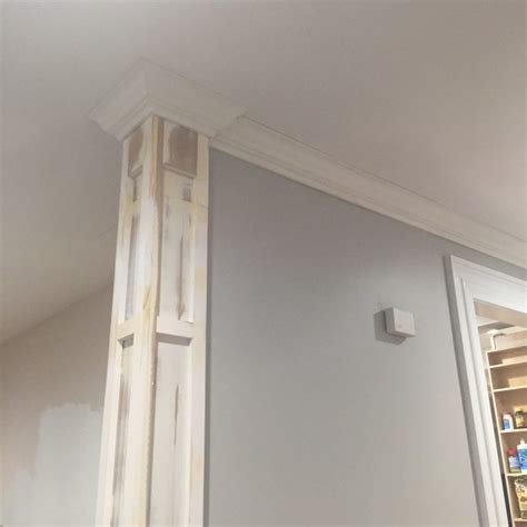 Decorative Corner Molding For Walls - decorative column and crown moulding day 27 sawdust 174
