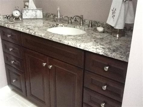 granite countertops for bathroom vanities delicatus granite vanity countertop traditional