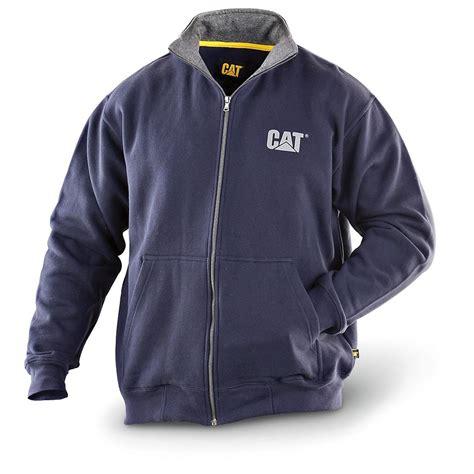 Jaket Zipper Hoodie Sweater Caterpilar Diesel Power 1 caterpillar 174 zip fleece jacket 157563 sweatshirts hoodies at sportsman s guide