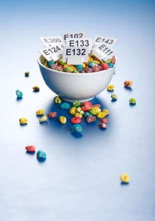 additivo alimentare voedingsadditieven