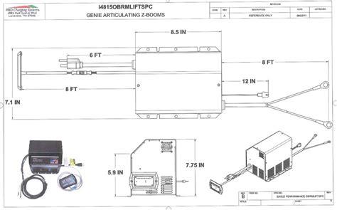 scissor lift battery wiring scissor free engine image