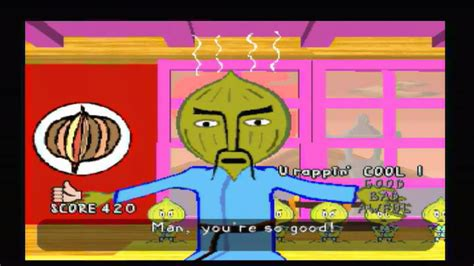 parappa the rapper bathroom rap parappa the rapper master onion chop kick punch youtube