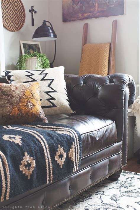 boho sofa choosing the leather sofa and a date at