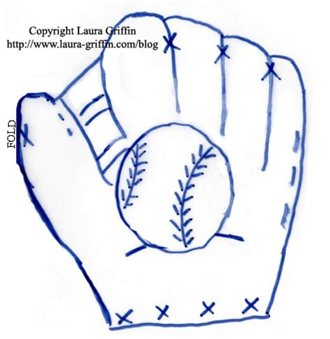 baseball mitt card template by lgriffin75 at