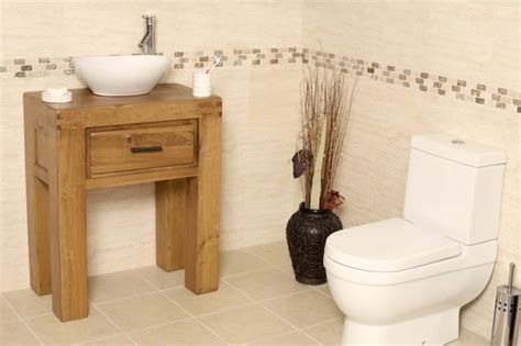 Oak Bathroom Furniture Freestanding 50 Freestanding Vanity Unit With Basin Bathroom Milan