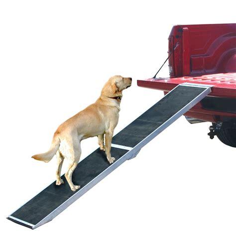 long lightweight portable folding aluminum pet ramp