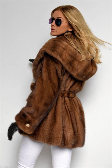 Mink Coat mink furs demi buff saga mink fur coat with belt