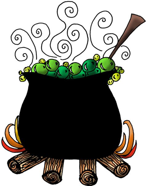 Witches Brew Clipart 171 thedoodlegirl