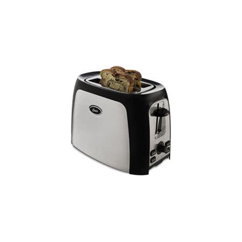 Wide Toaster Oster Tssttr2s4b 2 Slice Wide Slot Toaster Stainless Ebay
