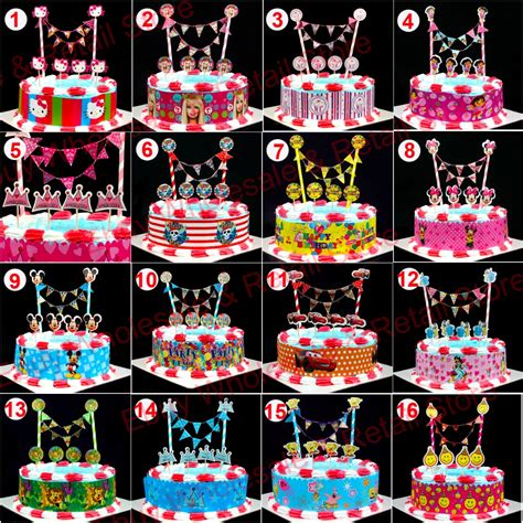 A 02 Topper Hiasan Kue Caketopper Bunting Flag Cake Topper popular minnie mouse cakes buy cheap minnie mouse cakes lots from china minnie mouse cakes