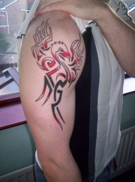 tribal tattoos red and black 48 tribal tattoos ideas