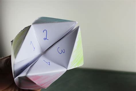 what to write in a paper chatterbox chatterbox origami how to make a chatterbox or