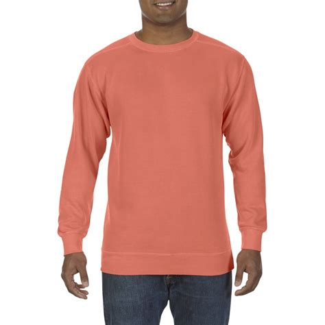 gildan comfort colors cc1566 comfort colors adult crewneck sweatshirt bright
