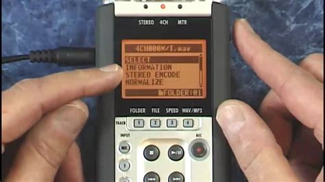 video tutorial zoom h4n zoom h4n tutorial review mixer levels eq and pans youtube