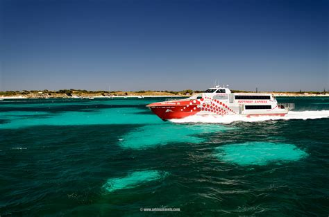cruising the swan river perth to rottnest island western - Rottnest Express Boats