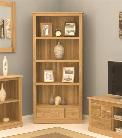 bookcases for rooms conran solid oak modern furniture large office living room bookcase ebay