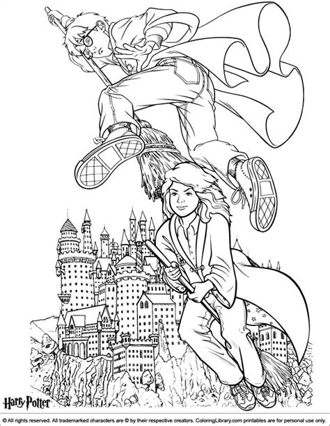 harry potter broom coloring page 17 best images about harry potter crafts on pinterest