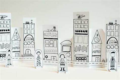 How To Make A 3d Paper City - juegos para ni 241 os una ciudad de papel bueno bonito y