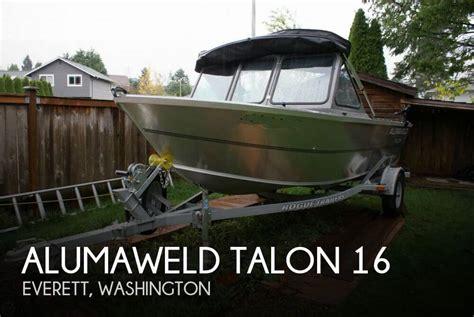 aluminum boats for sale everett wa sold alumaweld talon 16 boat in everett wa 117201
