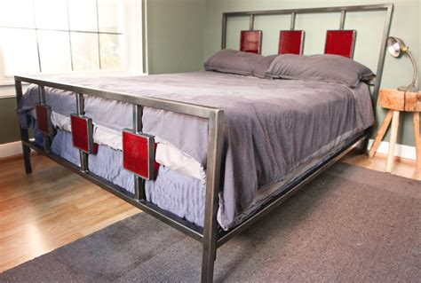 Handmade Metal Beds - custom metal bedroom set medium size of bed frames