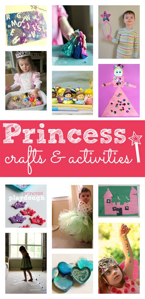 princess crafts for 12 princess activities for preschool no time for flash
