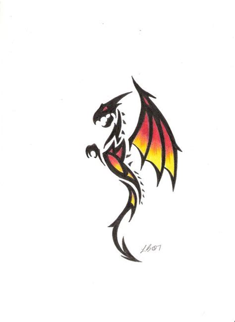 simple tribal dragon tattoo 25 best ideas about tribal on dragons