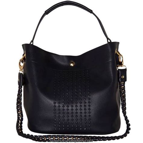 Studded Bag designer studded shoulderbag set blue large faux