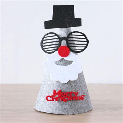 Topi Santa Anak Anak diy lucu rudolph orang tua anak anak santa snowman topi
