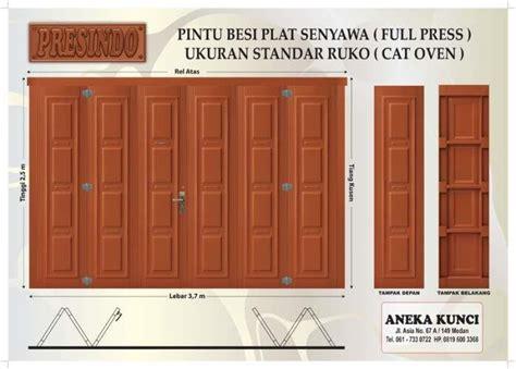 Kunci Ring Besi Ukuran 34 jual pintu besi press presindo model pintu kayu harga