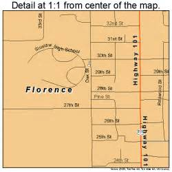 florence oregon map 4126050