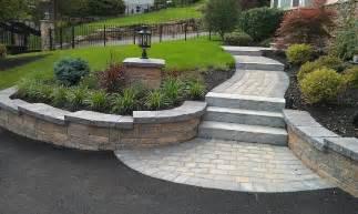 steps walkway and paver apron walkways driveways