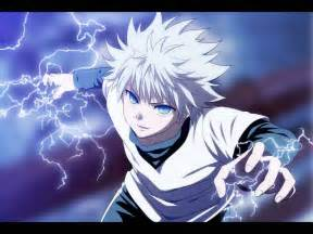 anime hunter x hunter killua zoldyck lightning hunter x hunter wallpaper
