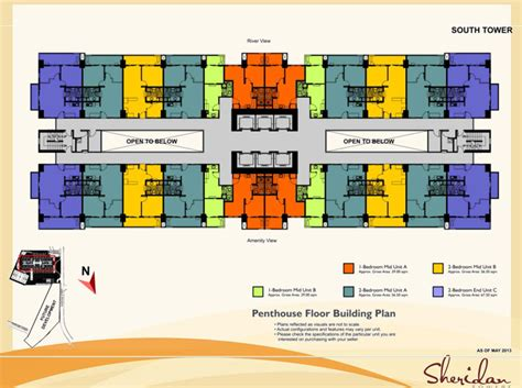 Garden State Mall Layout Towers Pasig Mandaluyong Dmci Homes
