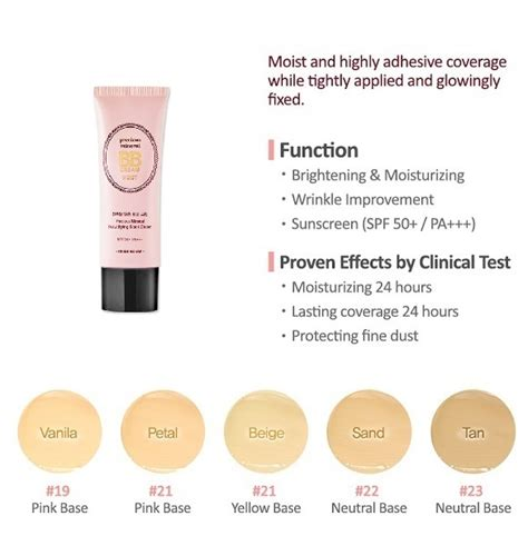 Etude House Precious Mineral Bb Moist Petal Spf50pa etude house precious mineral beautifying block moist