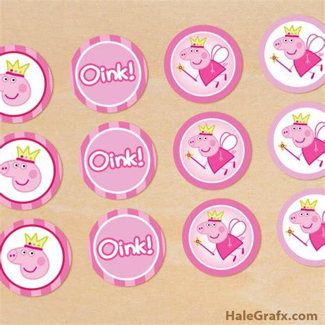 printable images of peppa pig free printable peppa pig cupcake toppers