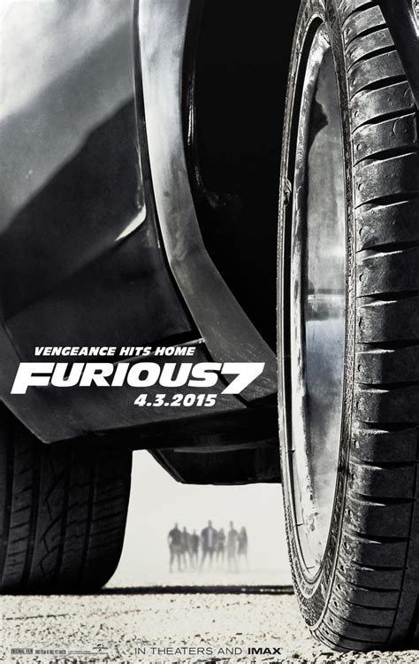 movie poster fast and furious 7 fast furious 7 trailer release date cast plot and news