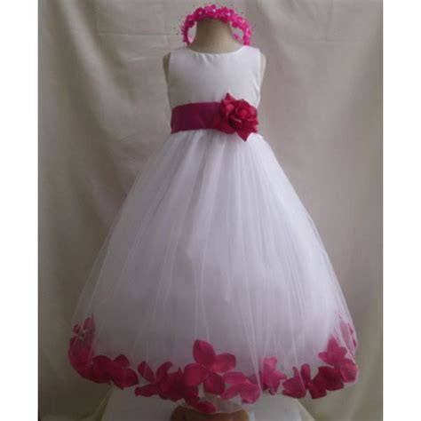 Dress Anak Flower Big flower dress manufacturer from chennai